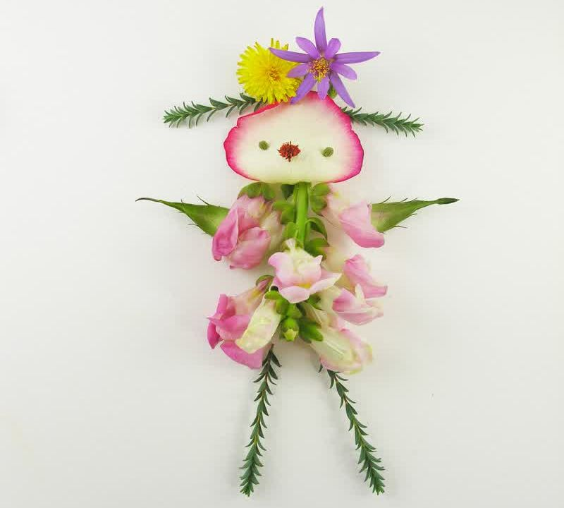 Elsa Mora Flower Artwork