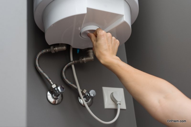 Turn Down Your Water Heater
