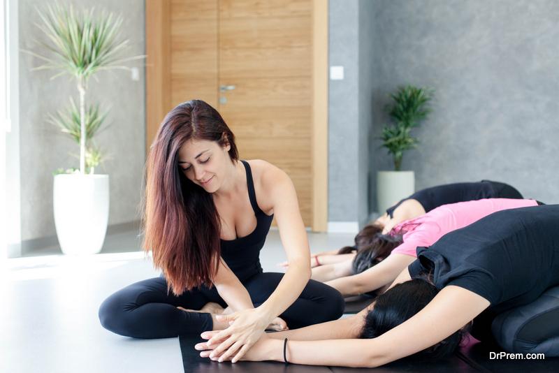 type of yoga you're teaching