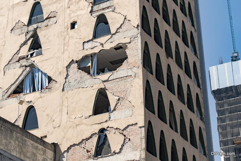 An earthquake hit Mexico City