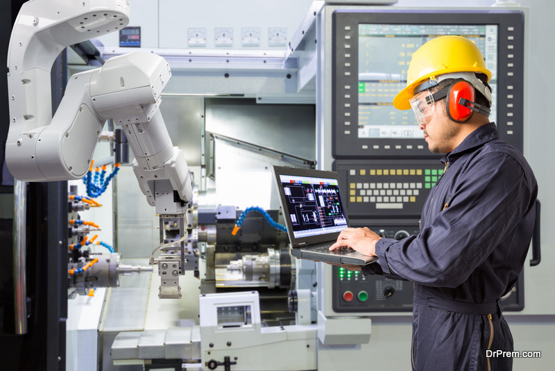 Investing in a Robotic Machine Tending
