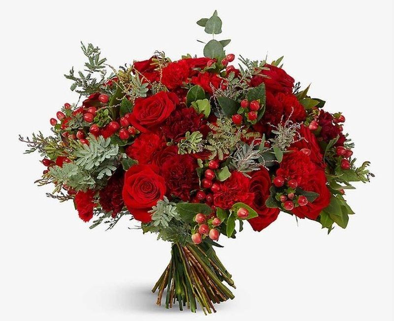 Red Roses Pastel Beauties