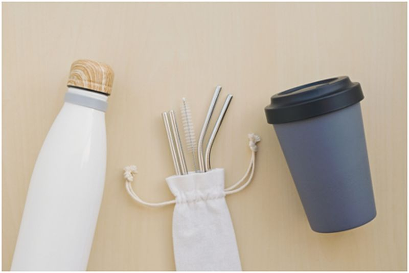 Reusable Utensils and Straw