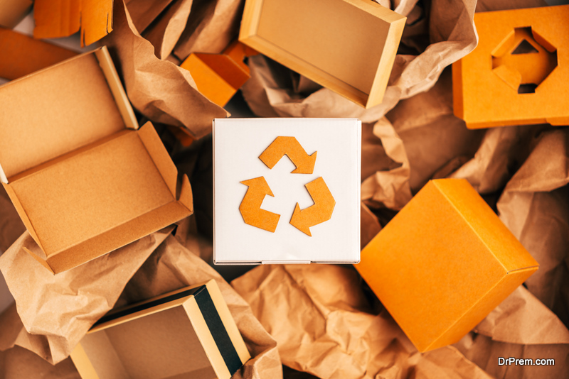 eco friendly packaging of products