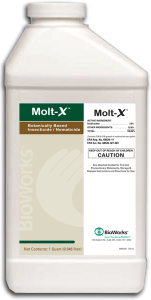 Molt-X Bioworks Organic Biological Insecticide