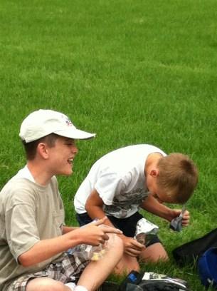 We laugh LOTS at camp!
