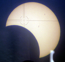 Partial eclipse projection