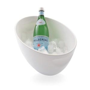 Champagne & wine bucket 190mm, white