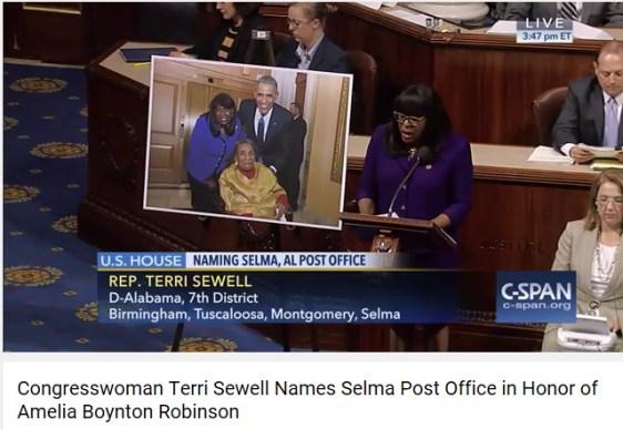 Terri Sewell names P. O.