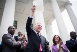 VA Governor Terry McAuliffe