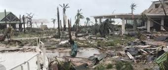 Hurricane image of Puerto Rico