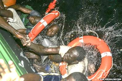 Saving Nigerians lost at sea