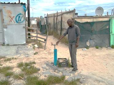 Capetown, S. A. water shortage