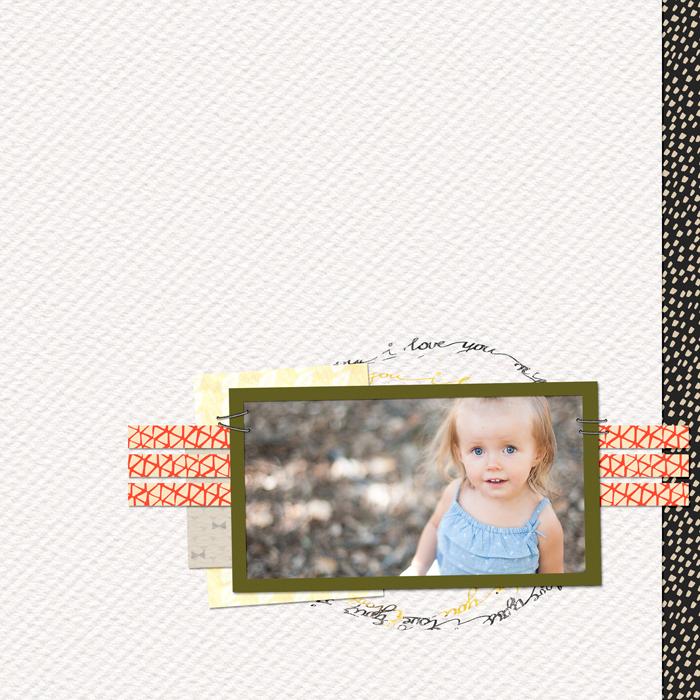 greene edition - layout by Kayl Turreson - Enjoy Each Moment Free Scrapbooking Kit