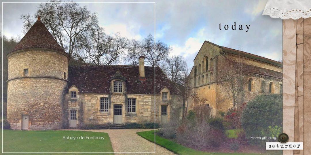 binaGreene#31 days in France in March 2019 march 9th Abbaye de Fontenay