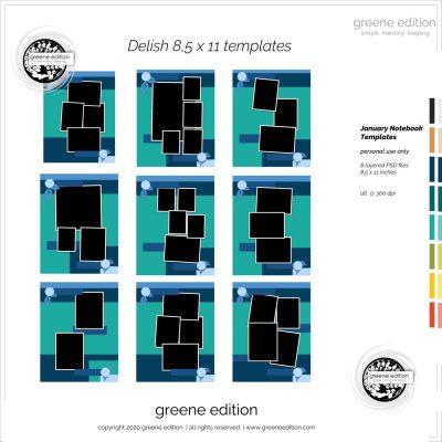 greene edition Delish Templates