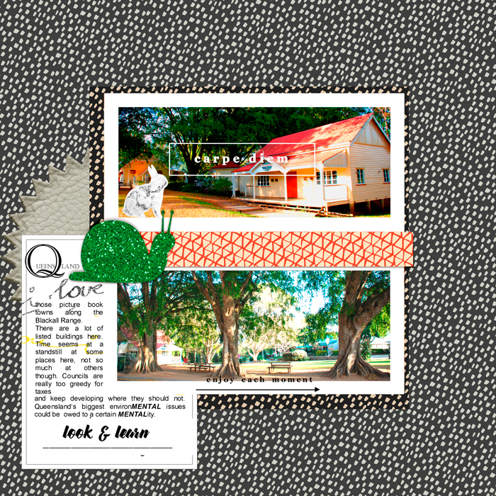 greene edition- layout by bina greene copyright 2018 - Enjoy Each Moment Free Scrapbooking Kit