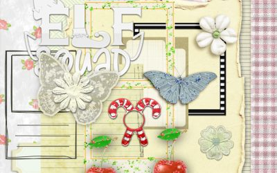 New Freebie Sweet Christmas Cherries Mini Kit