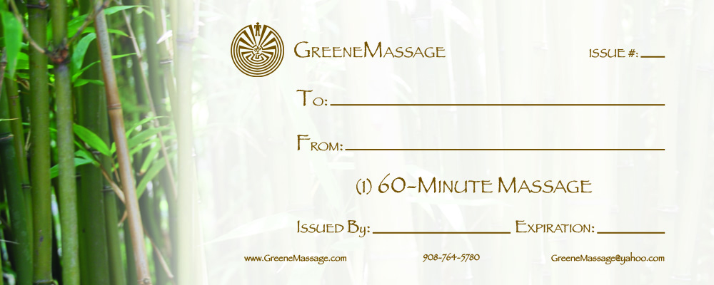 Massage gift certificate template printable lamoureph blog for Massage therapy gift certificate template