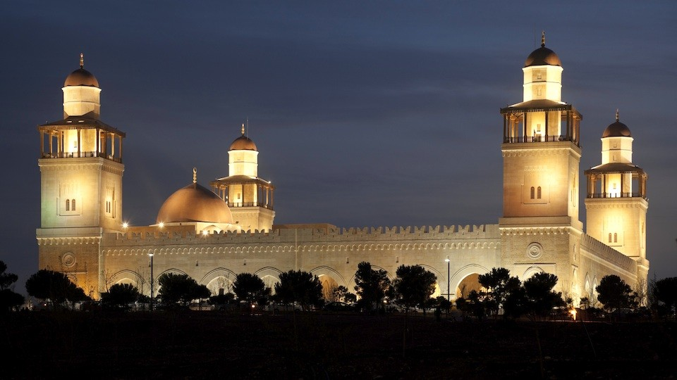 Jordan mosque solar power