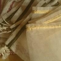 DIY - fabriquer vos sacs pour le vrac
