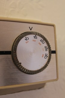 Turn down the thermostat!