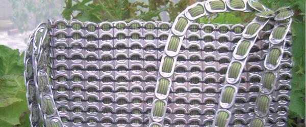 upcycling pop tab purse