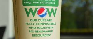 Pepsi biodegradable cup