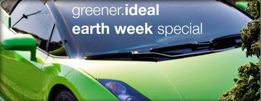 green car earth week special