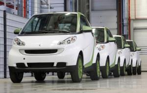 Daimler smart fortwo EV
