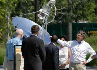 Bill Gates Foundation Solar Toilet