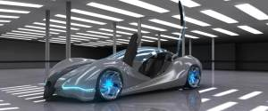 Fuel efficient concept car by Mercedes