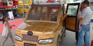 Umut wooden car