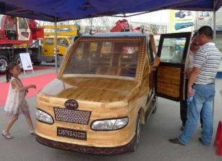 Umut wooden car