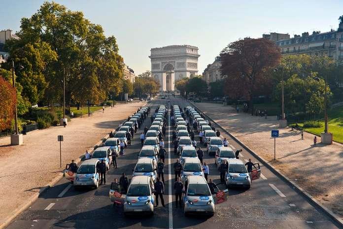 Autolib electric car sharing in Paris