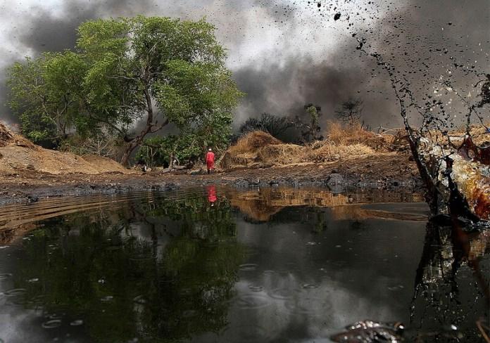 Oil spill Nigeria