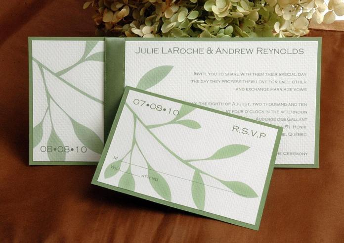 Wedding Invitations Eco Friendly: Guide To An Environmentally-Friendly Wedding