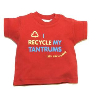 i recycle my tantrums red tshirt400