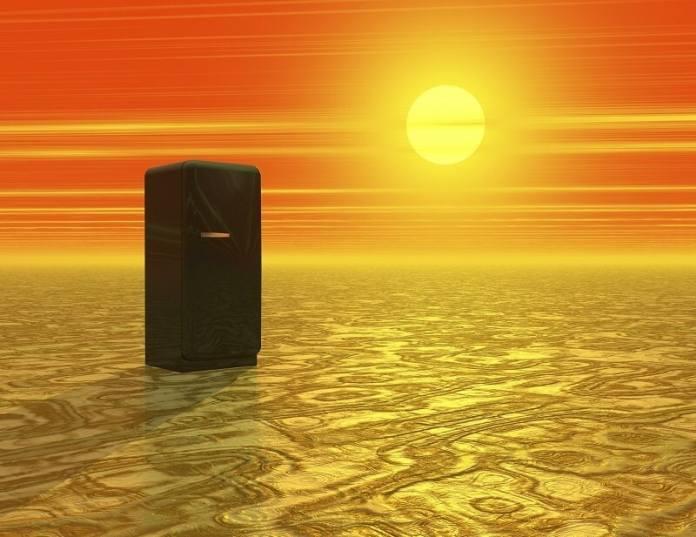 Desert with Icebox