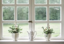natural light through windows