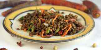 Lentil salad with Chinese 5 spice