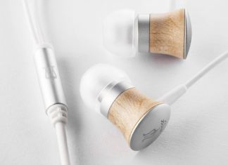 Meze Deco 11 wooden earbud headphones