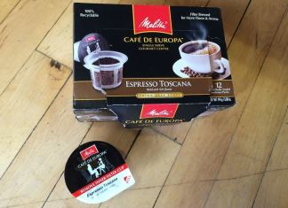 Melitta eco-friendly coffee K-Cups