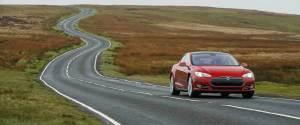 Tesla Model S in UK