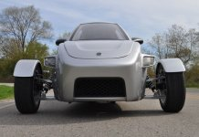 Elio Motors three-wheeler