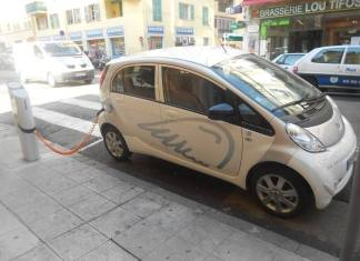 Electric car sharing