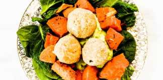 Sweet Potato Falafal