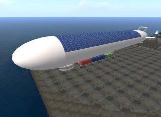 china solar power airship
