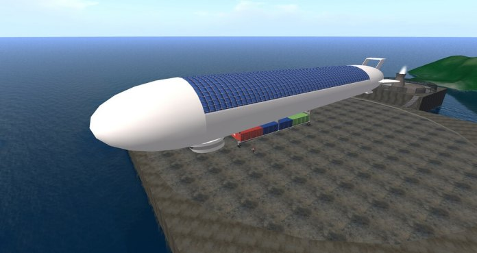 china solar power airship