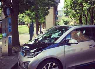 electric car charging in portland